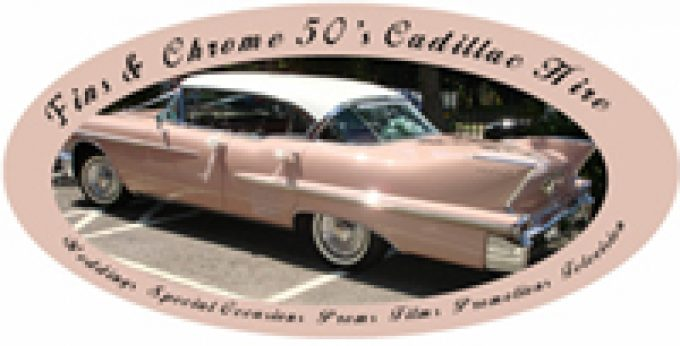 Fins & Chrome 50's Cadillac Hire