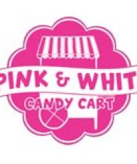 Pink & White Candy Cart