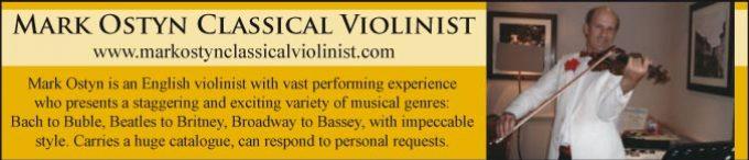 Mark Ostyn Classical Violinist