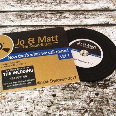 Wedding CD's